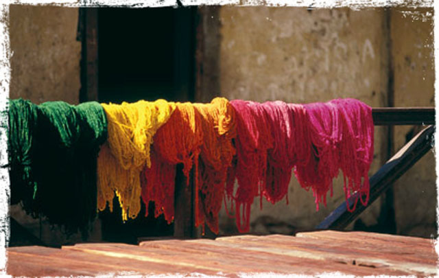 A Rainbow of Natural Dyes | Uncommon Threads