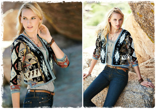 THE PIECE: Painted Desert Cardigan