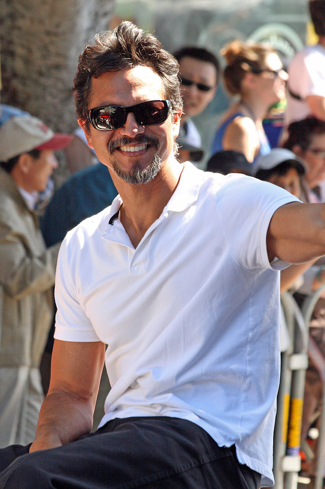 Benjamin Bratt, as Grand Master in the San Francisco Mission district parade. Photo by Frank Kovalchek